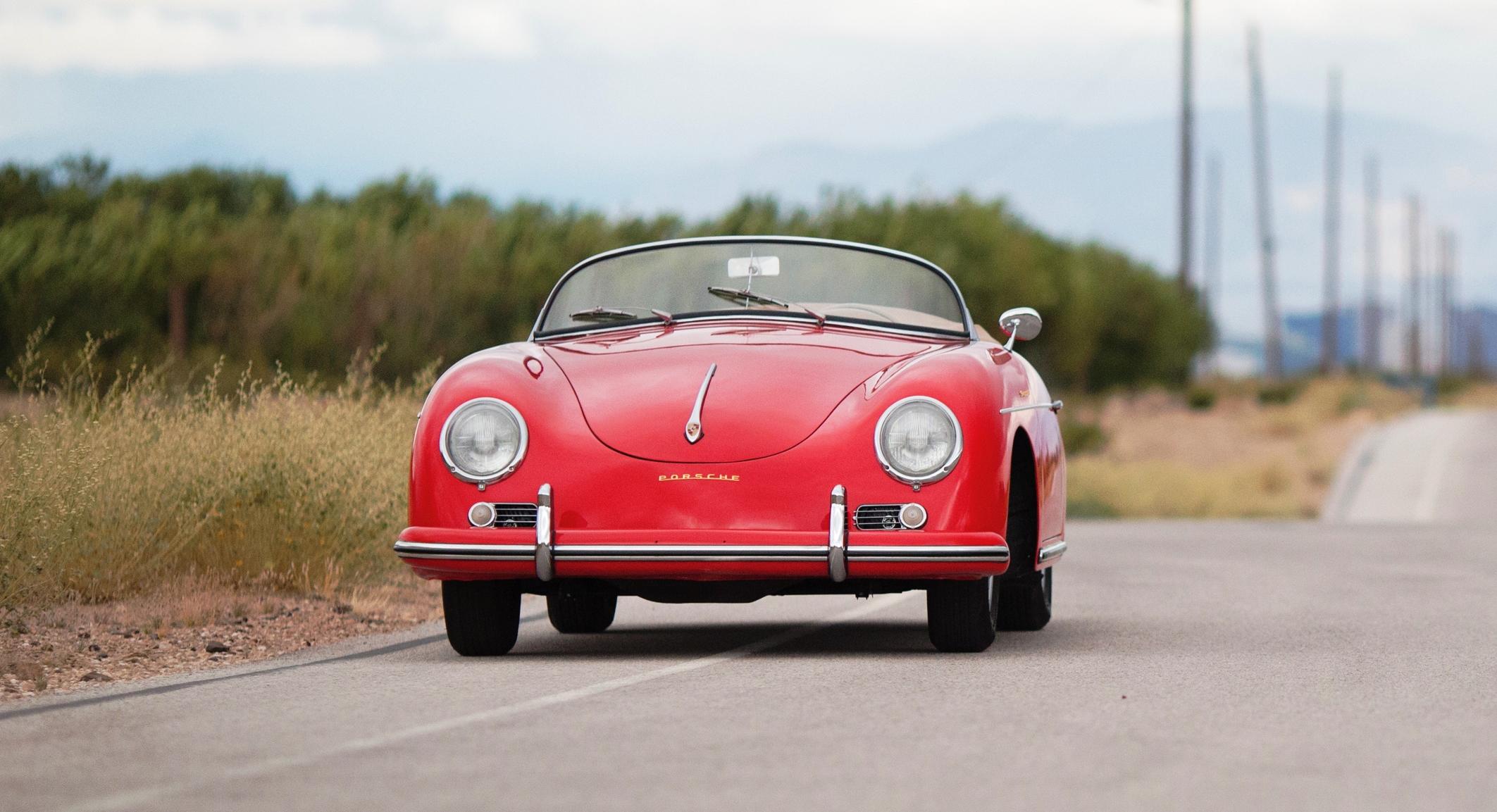 1958 Porsche 356a 1600 Speedster By Reutter