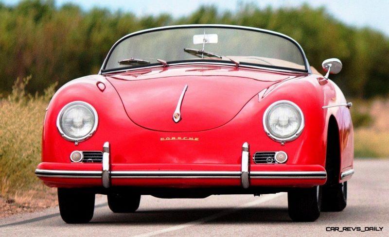1958 Porsche 356A 1600 Speedster by Reutter 18a
