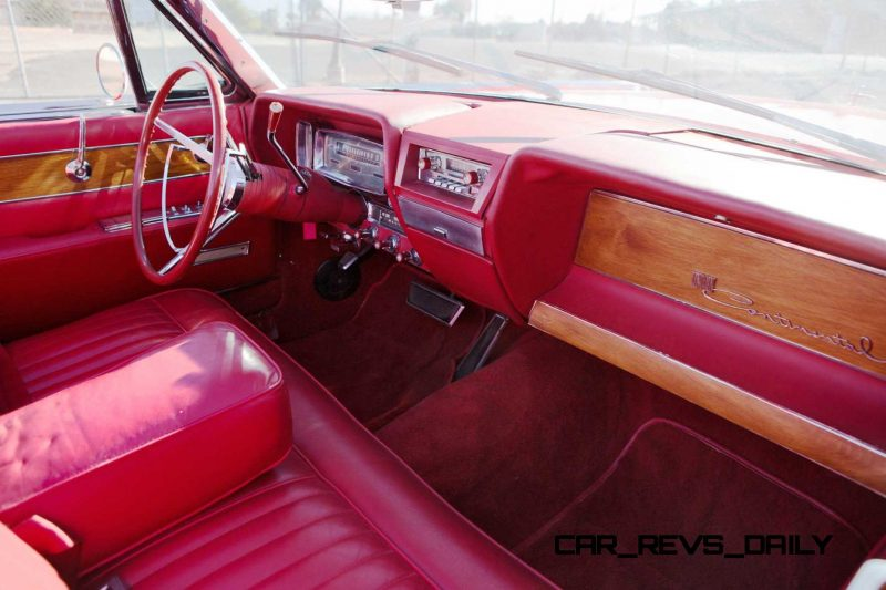 1961 Lincoln Continental Convertible 7