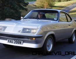 1973 Vauxhall Firenza Showed Rare Sports-Coupe Elegance and Futuristic Style