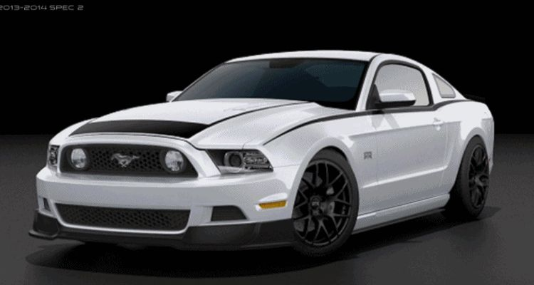 2014 Ford Mustang RTR Spec 2 Colors