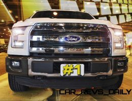 2015 Ford F-150 King Ranch STRIKES GOLD! Leads HUGE 54k January 2015 Sales, Up 17% YoY
