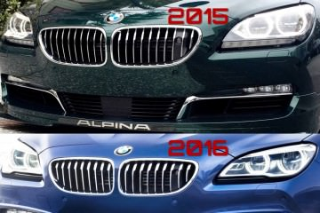 3.6s 2016 BMW ALPINA B6 xDrive Gran Coupe Updated With Latest 6-Series Tech and Style