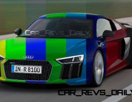 2016 Audi R8 – Digital Colorizer in 60 Custom Shades