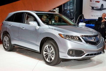 2015 Acura RDX Refreshed With New Tech, LED Lighting and Chassis Refinement