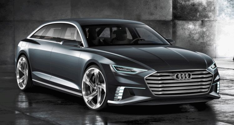 2015 Audi Prologue Avant Concept Shows 4-Door, Fast-Wagon Style Ahead of Geneva Show