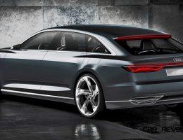 2015 Audi Prologue Avant Concept Shows 4-Door, Fast-Wagon Style Ahead of Geneva Show