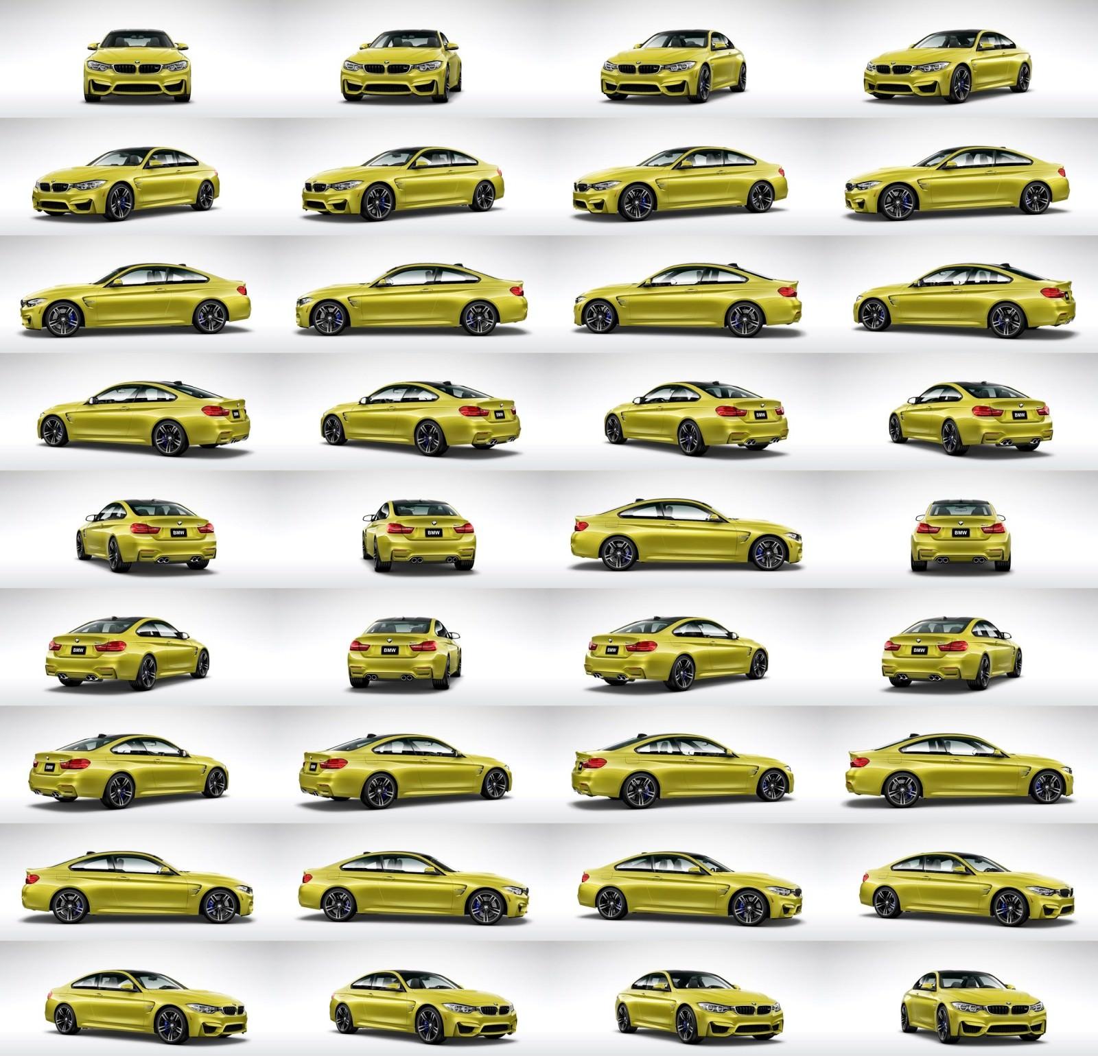 2015 BMW M4 Austin Yellow Metallic