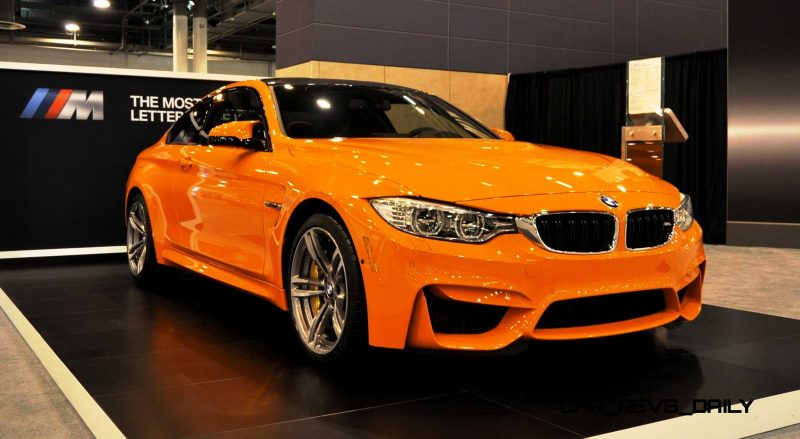 2015 BMW M4 Fire Orange 1