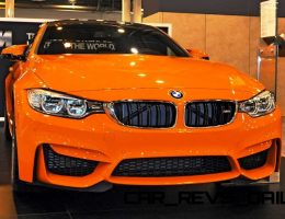2015 BMW M4 Colors and Wheels Guide – Animated Turntables + Individual Fire Orange