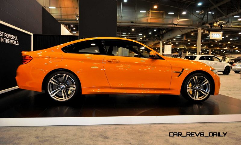 2015 BMW M4 Fire Orange 3
