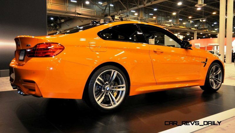 2015 BMW M4 Fire Orange 4