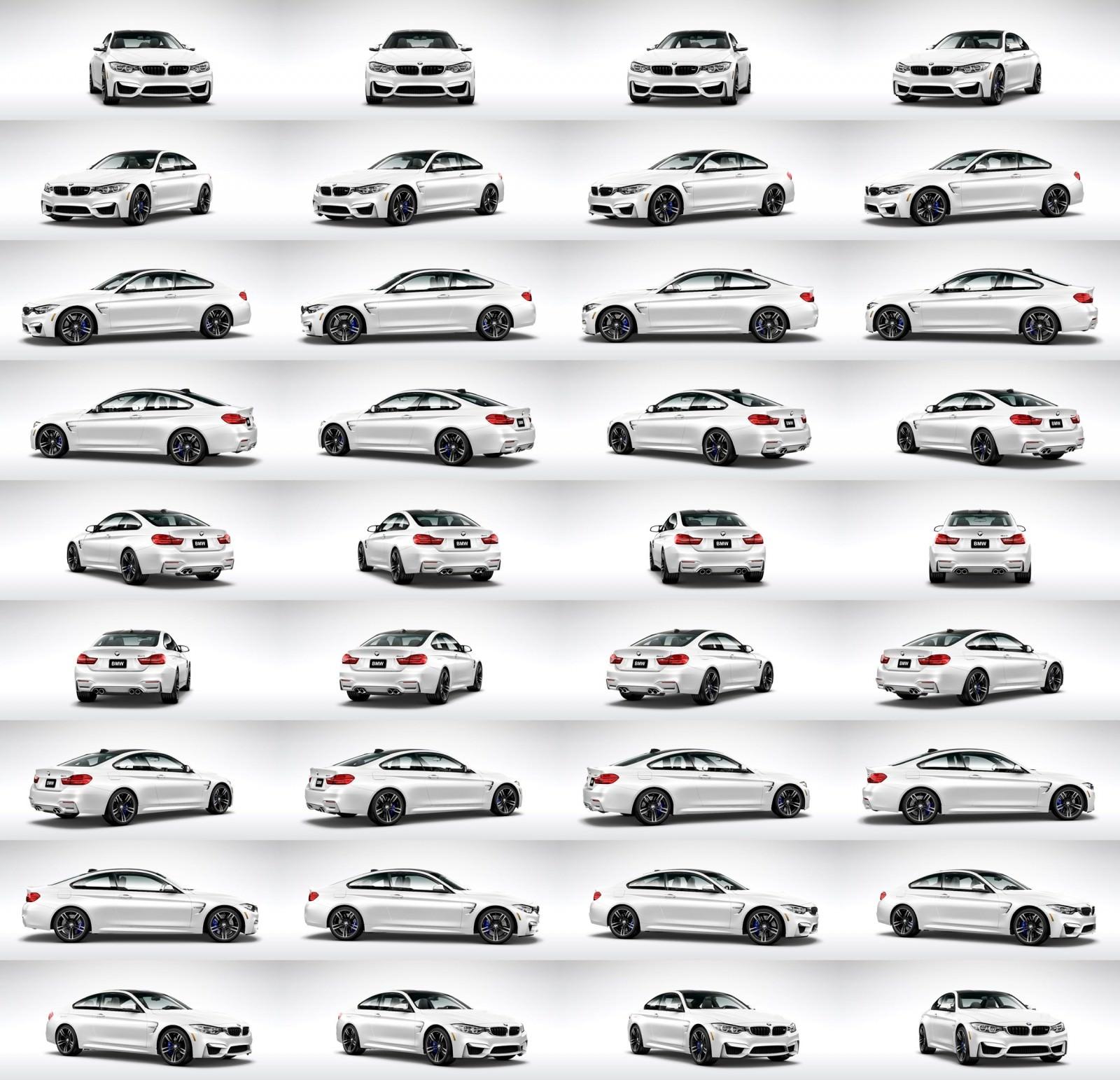 2015 BMW M4 Mineral White Metallic