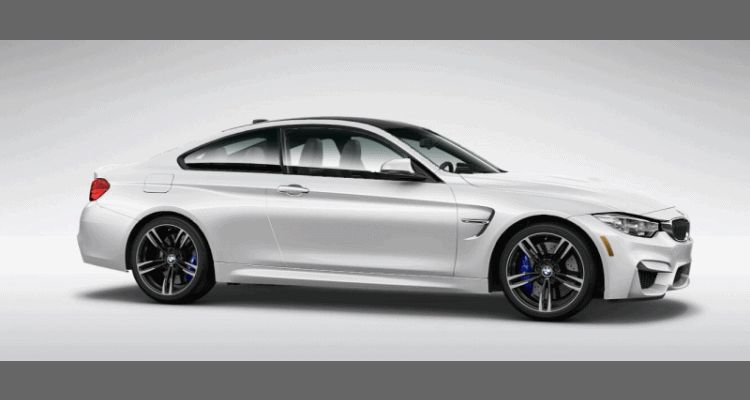2015 BMW M4 Mineral White Metallic