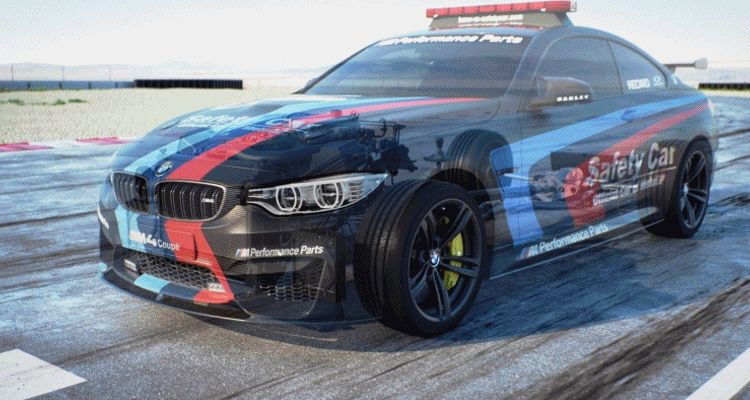 2015 BMW M4 MotoGP Safety Car   New Hydro Cooled Boost Vaporization