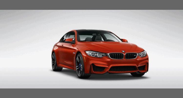 2015 BMW M4 Sakhir Orange