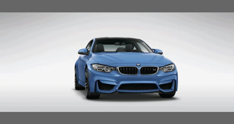 2015 BMW M4 Yas Marina Blue