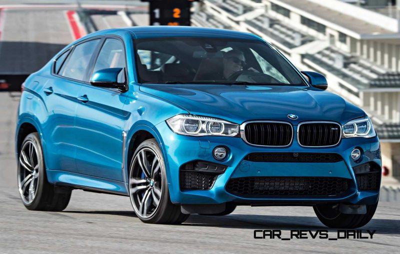 2015 BMW X6 M 60
