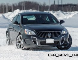 Winter Drift Gallery – 2015 Buick Regal GS AWD Slides Sideways Across Canadian Border