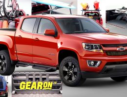 2015 Chevrolet Colorado GearOn Special Edition Packs Anything Via Cargo Management System