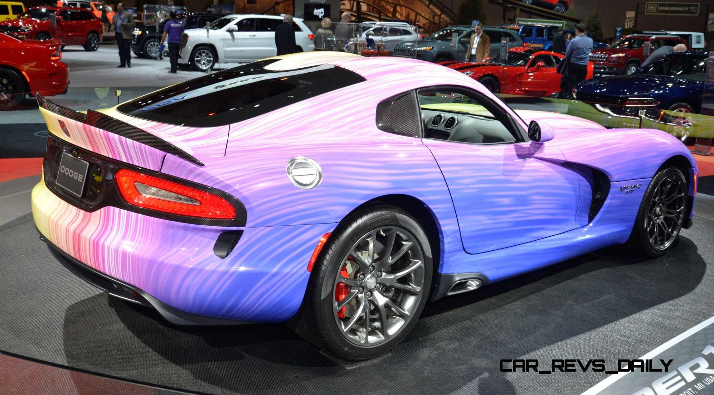 Auto Paint Colors >> 2015 Chicago Auto Show MEGA Gallery