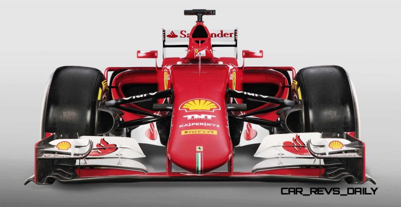 2015 F1 Cars Comparo - Infiniti RB11 vs McLaren-Honda MP4-30 vs AMG W06 vs Ferrari SF15T 14