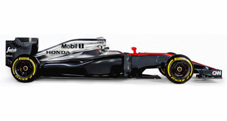 2015 F1 Cars Comparo - Infiniti RB11 vs McLaren-Honda MP4-30 vs AMG W06 vs Ferrari SF15T 21