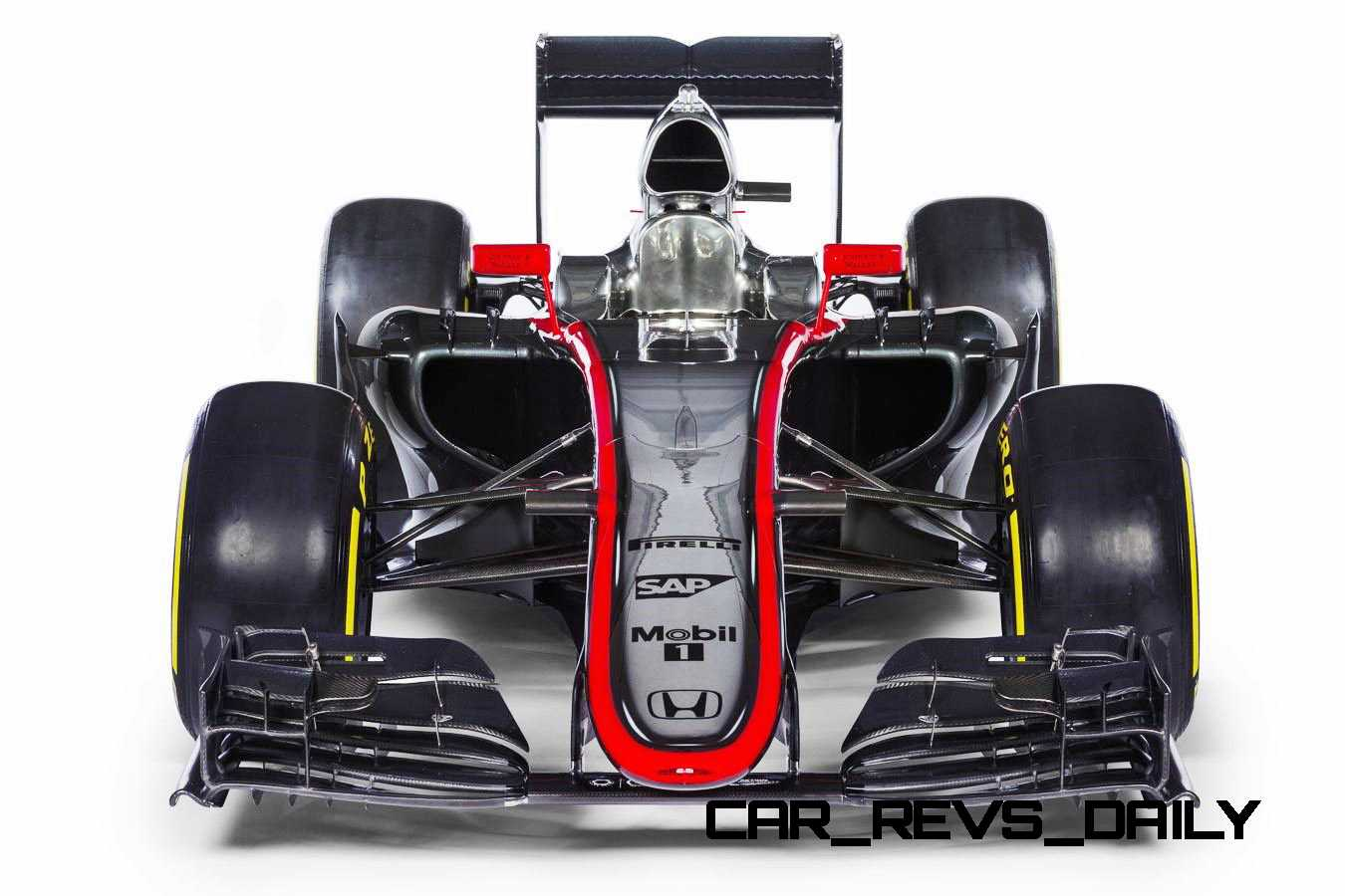 2015 F1 Cars Comparo - Infiniti RB11 vs McLaren-Honda MP4-30 vs AMG W06 vs Ferrari SF15T 24