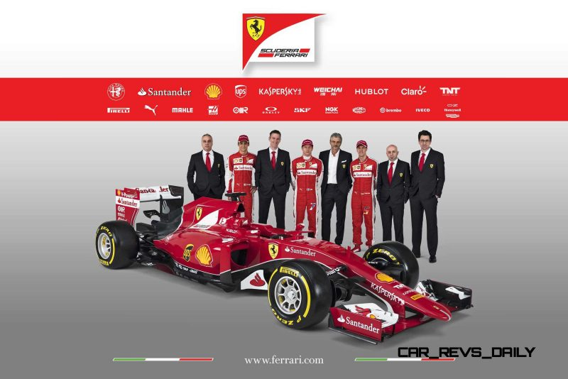 2015 F1 Cars Comparo - Infiniti RB11 vs McLaren-Honda MP4-30 vs AMG W06 vs Ferrari SF15T 8
