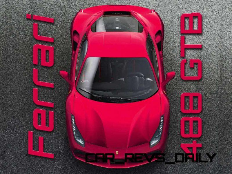 2015 Ferrari 488GTB Colors 1