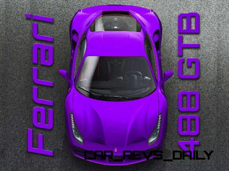 2015 Ferrari 488GTB Colors 3