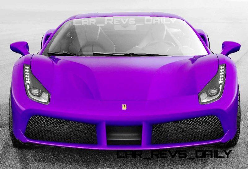 2015 Ferrari 488GTB Colors 30