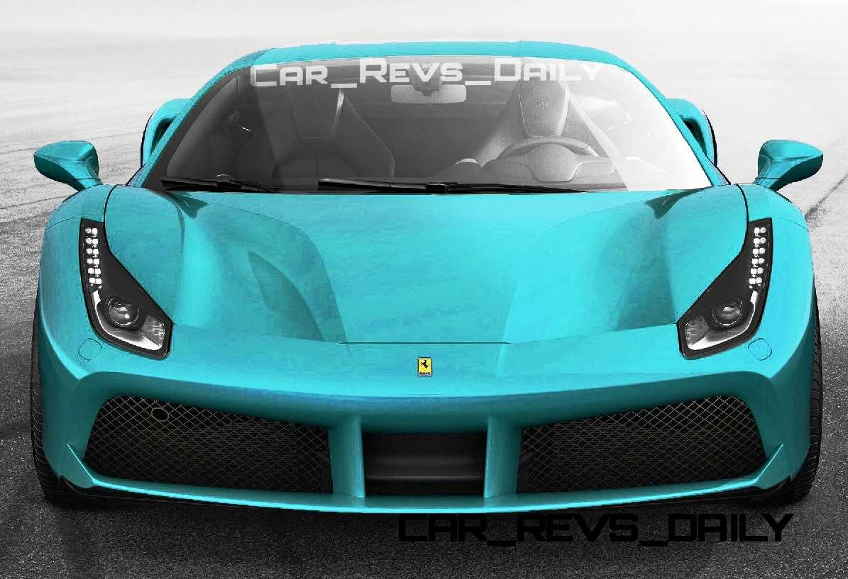 2015 Ferrari 488GTB Colors 34