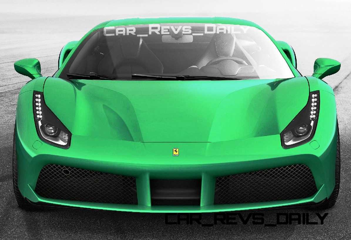 2015 Ferrari 488GTB Colors 35