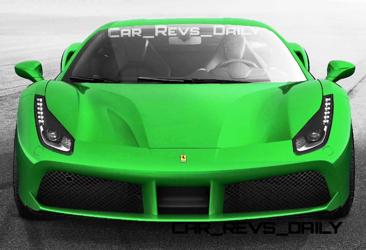 2015 Ferrari 488GTB Colors 36
