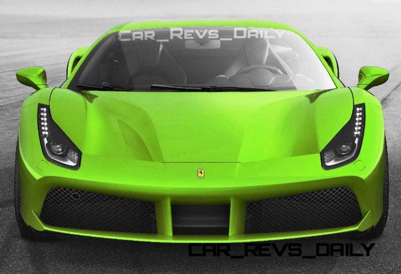 2015 Ferrari 488GTB Colors 50