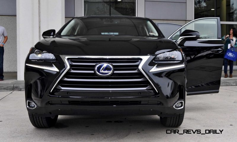 First Drive Review - 2015 Lexus NX300h Is Swanky, Ultra-Smooth, 35MPG+ SUV!?