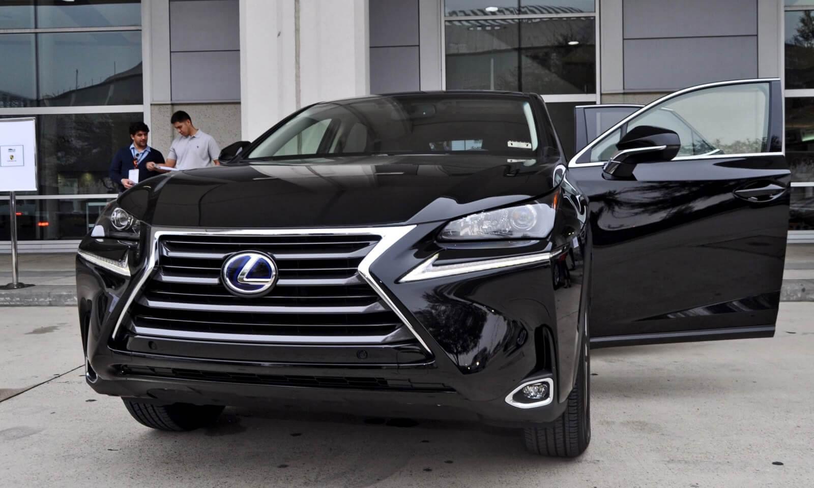 2015 Lexus NX300h 34