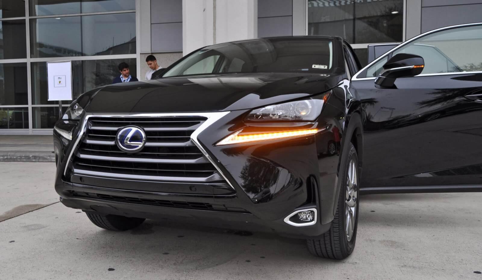 2015 Lexus NX300h 36