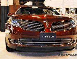 2015 Lincoln MKS Wears Secret Trim Updates for Houston Auto Show