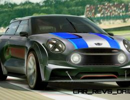 395HP, 3.5s 2015 MINI Vision Gran Turismo Runs AWD With 180MPH Vmax