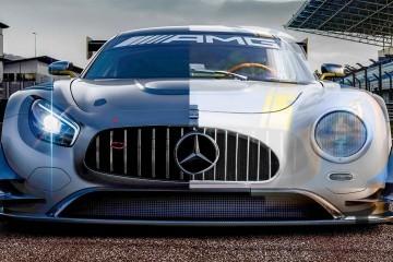 2015 Mercedes-AMG GT3 Racecar Revealed Wearing 300SL-Inspired Vertical Grille Slats