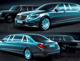 2015 Mercedes-Maybach PULLMAN Limousine Previewed With Quad Rear Thrones + HUGE Sense of Entitlement