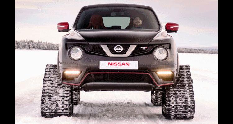 2015 Nissan Juke NISMO RSnow Trax Concept