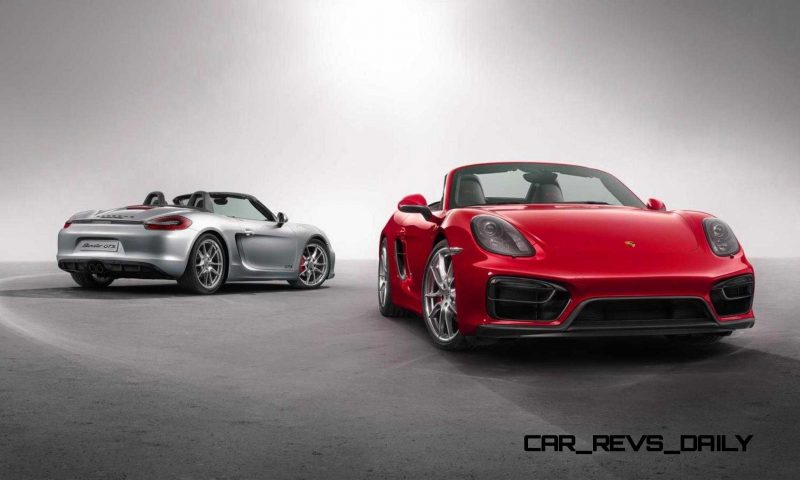 2015 Porsche Boxster and Cayman GTS 27