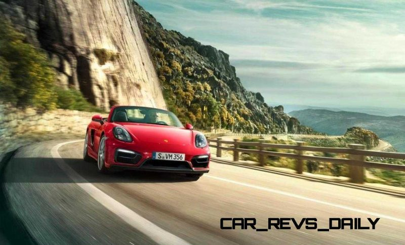 2015 Porsche Boxster and Cayman GTS 36