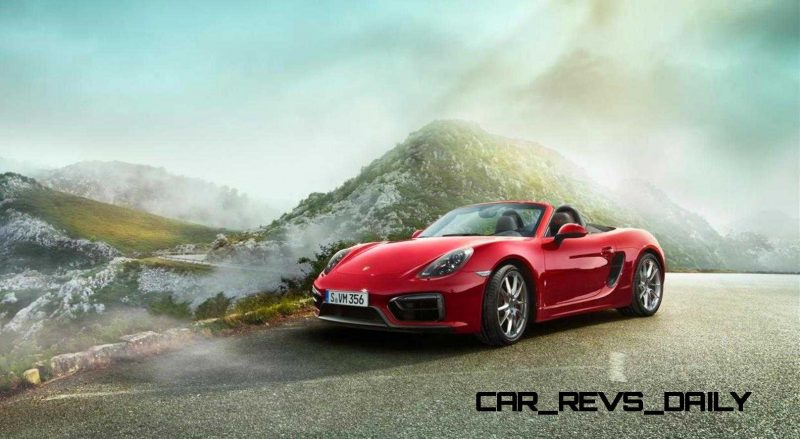 2015 Porsche Boxster and Cayman GTS 40