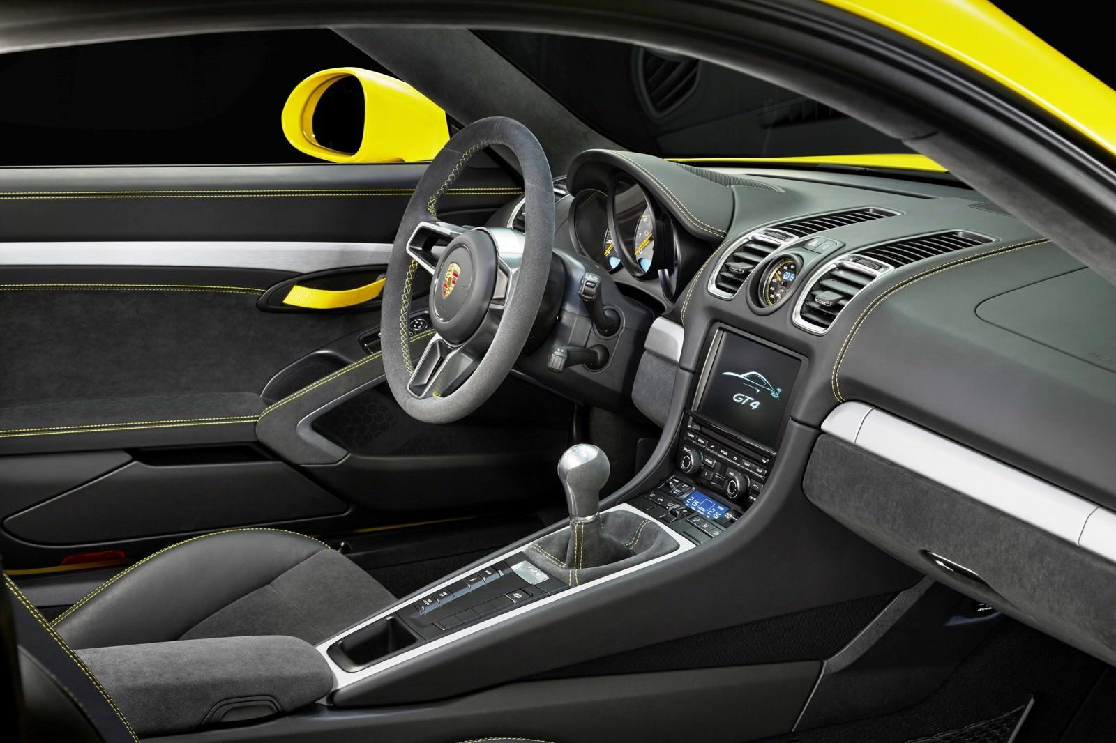 2015 Porsche Cayman GT4 1