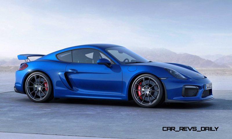 2015 Porsche Cayman GT4 4
