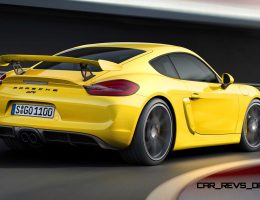 380HP 2015 Porsche Cayman GT4 Is Hardcore, Track-Attack Cockster!